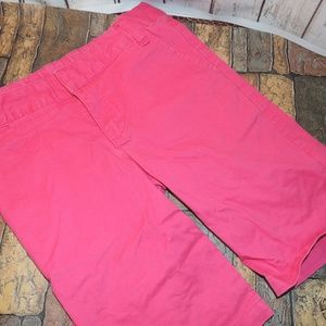Land's End pink 6x long shorts